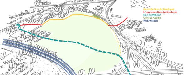La première phase du nouveau chemin du Keelbeek est presque terminée !