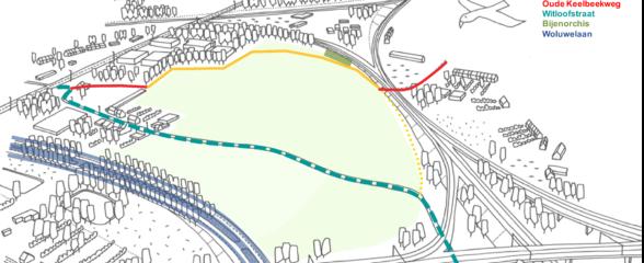 De eerste fase van het nieuwe Keelbeekpad is bijna afgerond!
